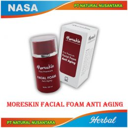 moreskin facial foam, moreskin facial foam anti aging, moreskin facial foam nasa